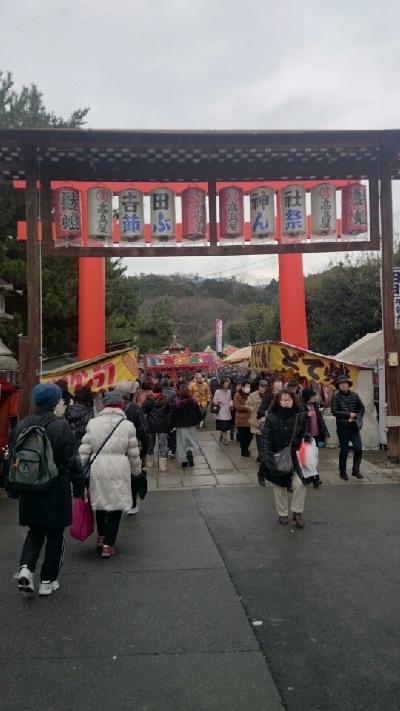 「吉田神社」へ節分のお詣りに行って来ました。
